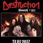 Rezet vor canta in deschiderea concertului Destruction din Fabrica