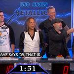 Metallica au concurat impotriva unui super fan in emisiunea lui Jimmy Kimmel