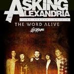 The Word Alive si Silent Screams vor deschide concertul Asking Alexandria de la Arenele Romane