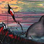 Picturile originale din The Wall vor fi scoase la licitatie