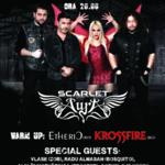 Scarlet Aura se pregateste pentru concertul din Bucuresti cu doua show-uri in Germania!