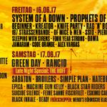 Lineup-ul complet al festivalui Nova Rock 2017