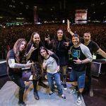 Korn au cantat cu Robert si Tye Trujillo in Lima