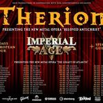 Au fost puse in vanzare biletele pentru concertul Therion din luna martie 2018