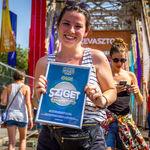 O romanca a primit un abonament pe viata la Sziget Festival
