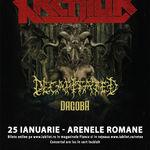 S-au pus in vanzare biletele pentru concertul Kreator, Decapitated si Dagoba de la Bucuresti