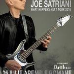 Arthur va deschide concertul celebrului chitarist Joe Satriani