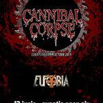 Poze de la concertul Cannibal Corpse din Quantic