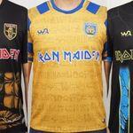 Iron Maiden lanseaza trei modele de echipamente de fotbal