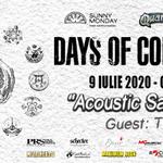 Green Shepherd canta in deschiderea concertului 'Days of Confusion, Acoustic Satellites'