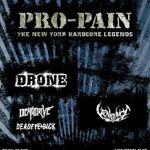 Detalii despre concertul Pro-Pain la Bucuresti