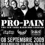 Pro-Pain concerteaza in aceasta seara la Cluj Napoca