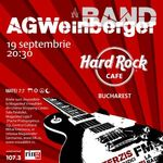 AG Weinberger concerteaza in Hard Rock Cafe