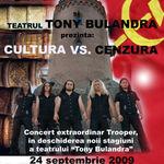 Trooper CANTA in Targoviste la Teatrul Tony Bulandra