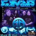 Fear Factory s-au reunit oficial si sustin primul concert in Argentina