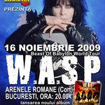 Mai sunt 5 zile in care puteti cumpara bilete speciale la concertul W.A.S.P.