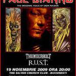 400 de oameni au asistat la concertul lui Paul Di'Anno (ex-Iron Maiden) din Bulgaria
