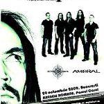 Concertul Amorphis la Arenele Romane are loc intr-un cort echipat cu instalatie de incalzire