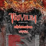 Trivium in turneu alaturi de Chimaira si Whitechapel