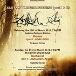 Detalii despre concertele Agalloch din Brasov si Bucuresti