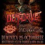 Deathdrive, Deadeye Dick si Proof concerteaza diseara in Fabrica
