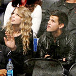 Taylor Swift si Taylor Lautner, intalnire la hochei