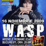 Filmari din turneul european W.A.S.P.!