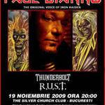 Spotul video pentru concertul Paul Di'Anno (ex-Iron Maiden) din Bucuresti!