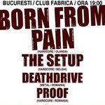 Detalii oficiale despre concertul Born From Pain la Bucuresti!