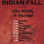 Concert Indian Fall, Grimegod si Lotul National de Hardcore in Brasov