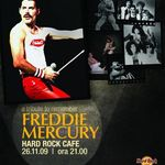 Concert tribut Freddie Mercury la Hard Rock Cafe!
