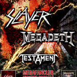 Este oficial! Turneu Slayer, Megadeth si Testament!