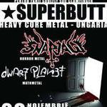 Superbutt, Snapjaw si Dwarf Planet concerteaza astazi in Suburbia!