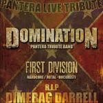 Filmari cu Domination din pregatirea concertului 'Remember Dimebag Darrell' din Live Metal Club!